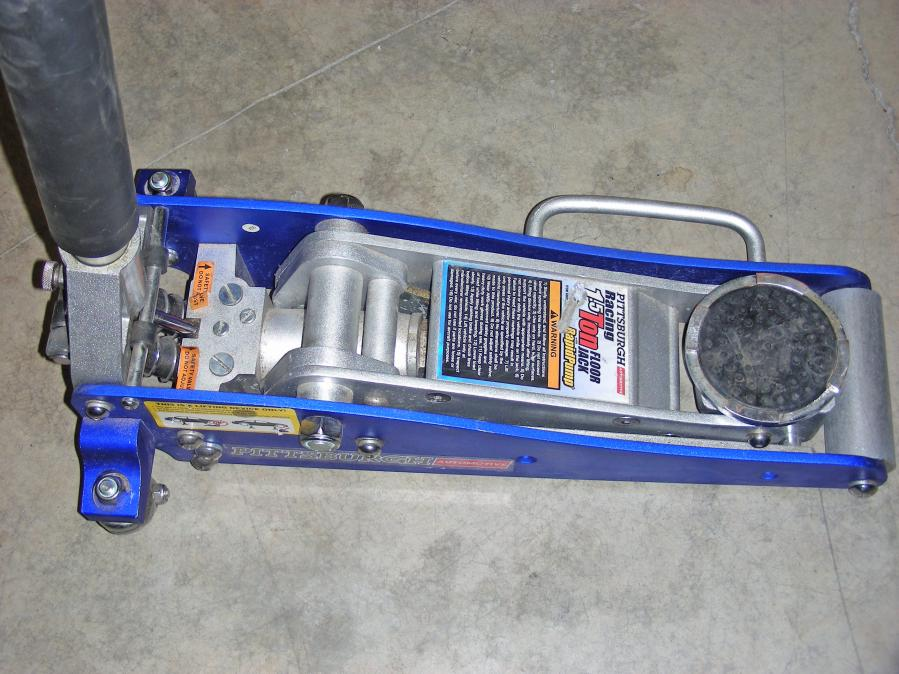 Aluminum Racing Floor Jack With Rapid Pump 1 5 Tons